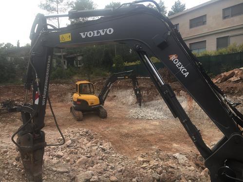 Excavación con martillo