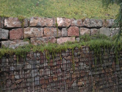 Muro gavión