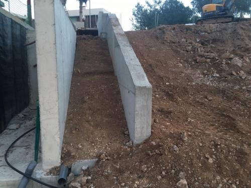 Muro hormigón