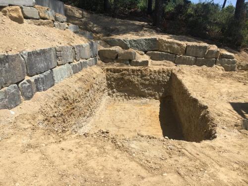 Excavación pisicna
