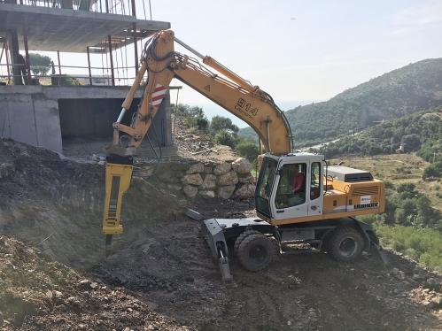 19. Excavación martillo